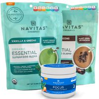 Print a coupon for $5 off any two Navitas Organics Essential Blends or Daily Boosts