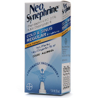 Print a coupon for $1.50 off one Neo-Synephrine Nasal product