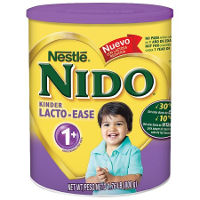 Print a coupon for $1 off one canister of Nestle NIDO Kinder 1+, NIDO Lacto-ease or NIDO 3+