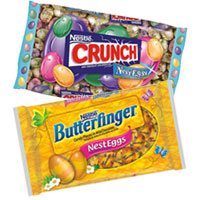 Save $1 on any two bags of Nestle Butterfinger or Crunch Nesteggs