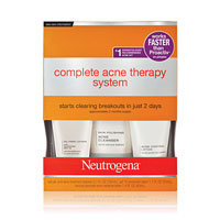 Save $3 on one Neutrogena Complete Acne Therapy System