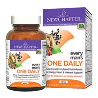 Save $3 on any bottle of New Chapter Multivitamins, fish Oil, Calcium, or Herbal Supplements