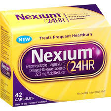 Print a coupon for $5 off one 28 count pack of Nexium 24HR