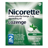 Print a coupon for $10 off one Nicoderm or Nicorette Gum/Lozenge product