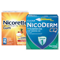 Print a coupon for $10 off Nicorette Coated Ice Mint Lozenge