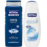 Save $3 on any two bottles of Nivea or Nivea for Men Body Wash
