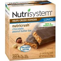 Print a coupon for $1 off a box of Nutrisystem Nutricrush Bars or Shakes