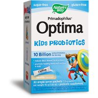 Print a coupon for $3 off Nature's Way Optima Kids Probiotic product
