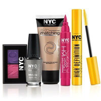 Save $1 on NYC New York Color Products