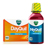 Save $3 on any two Vicks DayQuil, NyQuil, or Severe Products