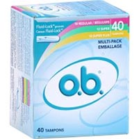 Print a coupon for $2 off one O.B. Tampon product
