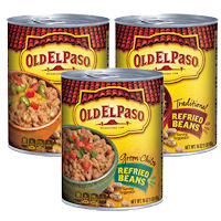Save $1 on three cans of Old El Paso Refried Beans