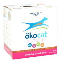 Print a coupon for $3 off one box of okocat cat litter by Healthy Pet