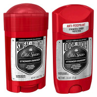 Save $1 on one stick of Old Spice Odor Blocker or Sweat Defense Deodorant or Dirt Destroyer Body Wash