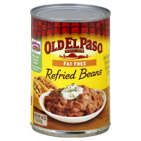 Print a coupon for $0.50 off one can of Old El Paso Refried Beans