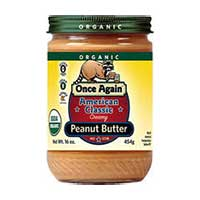 Print a coupon for $1 off any Once Again Nut Butter