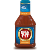 Save $0.50 on any bottle of Open Pit BBQ Sauce, 18oz or larger