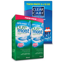 Save $5 on one OPTI-FREE or Clear Care Twin Pack