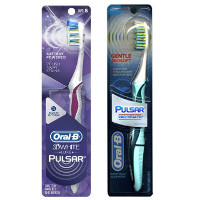 Save $1.50 on one Oral-B Pro-Health or 3D White Luxe Pulsar Toothbrush