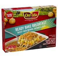 Print a coupon for $2 off one Ore-Ida Breakfast Bake Product