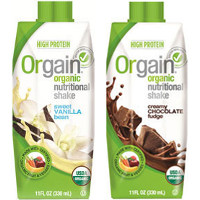 Save $2 on any 4-pack of Orgain Organic Nutrition Shakes