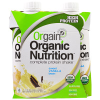 Print a coupon for $2 off any 4-pack of Orgain Organic Nutrition Shakes
