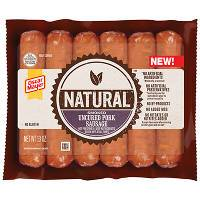 Print a coupon for $1 off Oscar Mayer Natural Sausage Links