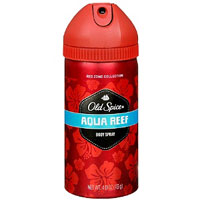 Save $0.75 on any Old Spice Body Spray