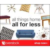 Shop the latest in furniture and home decor trends, all at overstock prices