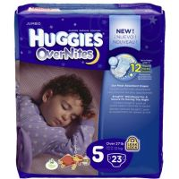 Save $2 on one package of Huggies Overnight Diapers, 10ct. or larger