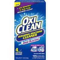 Print a coupon for $1 off one OxiClean Washing Machine Cleaner