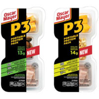 Print a coupon for $1 off two Oscar Mayer P3 Portable Protein Packs