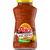 Print a coupon for $1 off two jars of Pace Salsa or Picante Sauce, 16oz. or larger