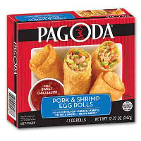 Print a coupon for $1 off one package of Pagoda Egg Rolls
