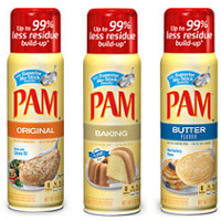 Save $0.30 on any Pam Cooking Spray