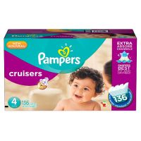 Print a coupon for $1 off Pampers Cruisers Diapers