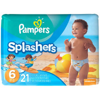 Print a coupon for $1.50 off Pampers Splashers Swim Diapers