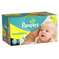 Print a coupon for $2 off Pampers Swaddlers Diapers
