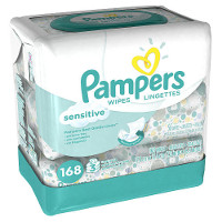 Print a coupon for $1 off a package of Pampers Wipes, 56ct. or larger