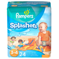 Save $2 on one package of Pampers Splashers Swim Diapers
