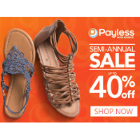 Get 5% Cash Back at Your Local Payless Shoe Store when you pay with your linked Credit or Debit Card