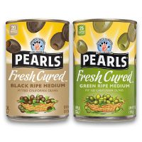 Print a coupon for $1 off any two Pearls Olives products
