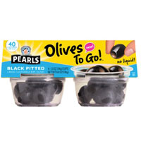 Save $1 on any Pearls Olives To Go! 4-pack or larger