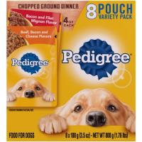Print a coupon for $2 off three packages of Pedigree Treats for Dogs