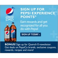 Get deals on Pepsi Brands, exclusive coupons, rewards, recipes and more