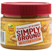 Save $0.50 on one jar of Peter Pan Simply Ground Peanut Butter