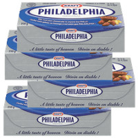 Save $1 on four 8 oz. packages of Philadelphia Cream Cheese