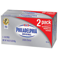 Save $0.55 on one Philadelphia Cream Cheese 2-pack