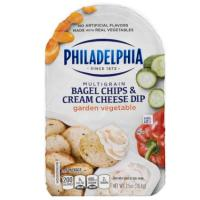 Print a coupon for $1 off Two Philadelphia Bagel Chips and Cream Cheese Dip