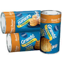 Print a coupon for $1 off three cans of Pillsbury Grands! or Grands! Jr. Biscuits